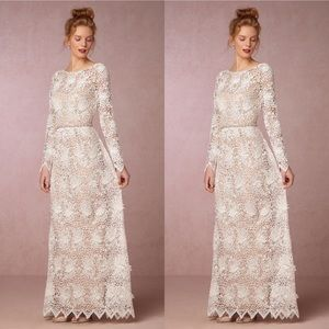 Anthropologie x BHLDN Korovilas Landry Dress